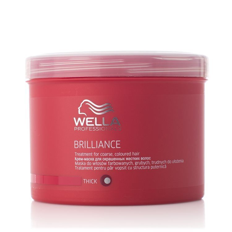 Wella Professionals Brilliance Treatment Tjockt/Grovt Hår 500ml
