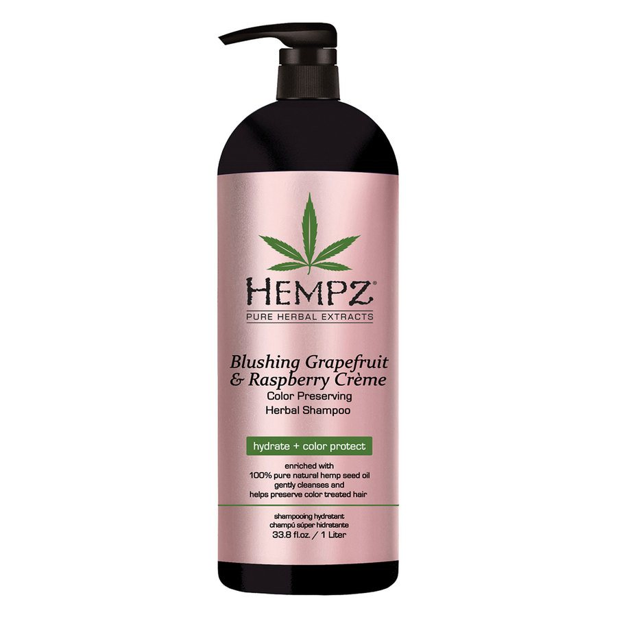 Hempz Blushing Grapefruit & Raspberry Crème Shampoo 1000 ml