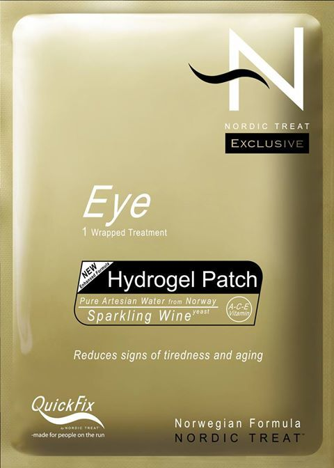 Nordic Treat Hydro Gel Eye Patch behandling