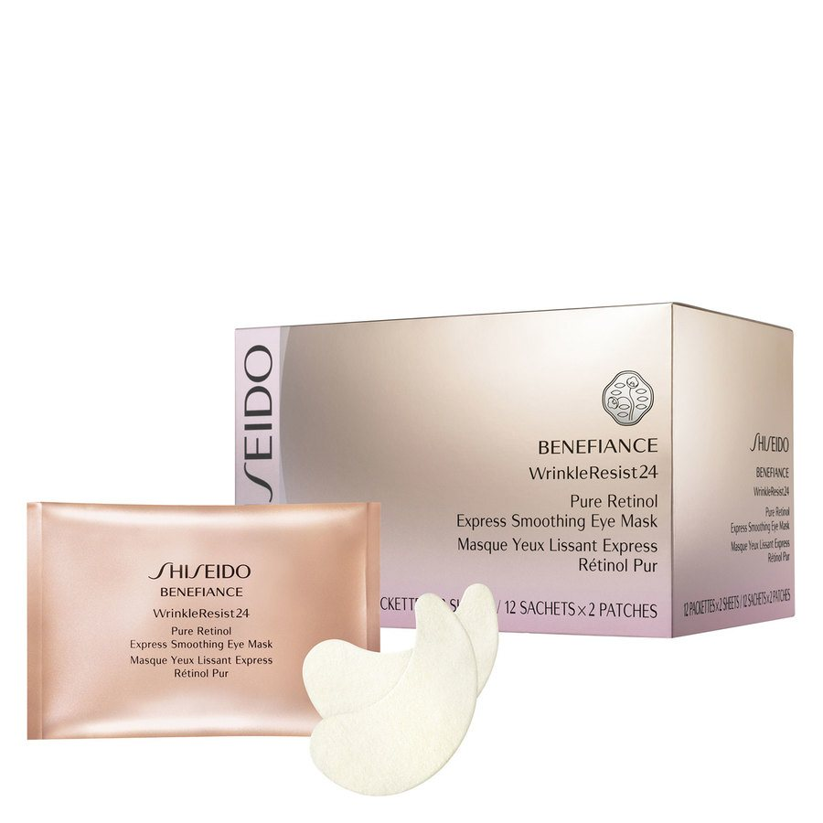 Shiseido Benefiance WR 24 Pure Retinol Express Smoothing Eye Mask 12 st.