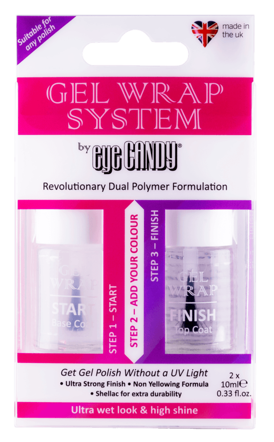Eye Candy London Gel Wrap System 2 x 10ml