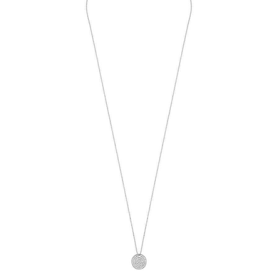 Snö of Sweden Corinne Pendant Necklace 60 cm Silver/Clear