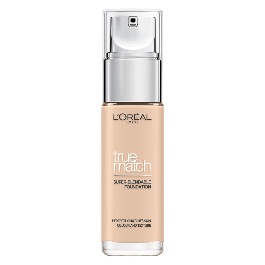 L'Oréal Paris True Match Liquid Foundation Porcelain 30 ml