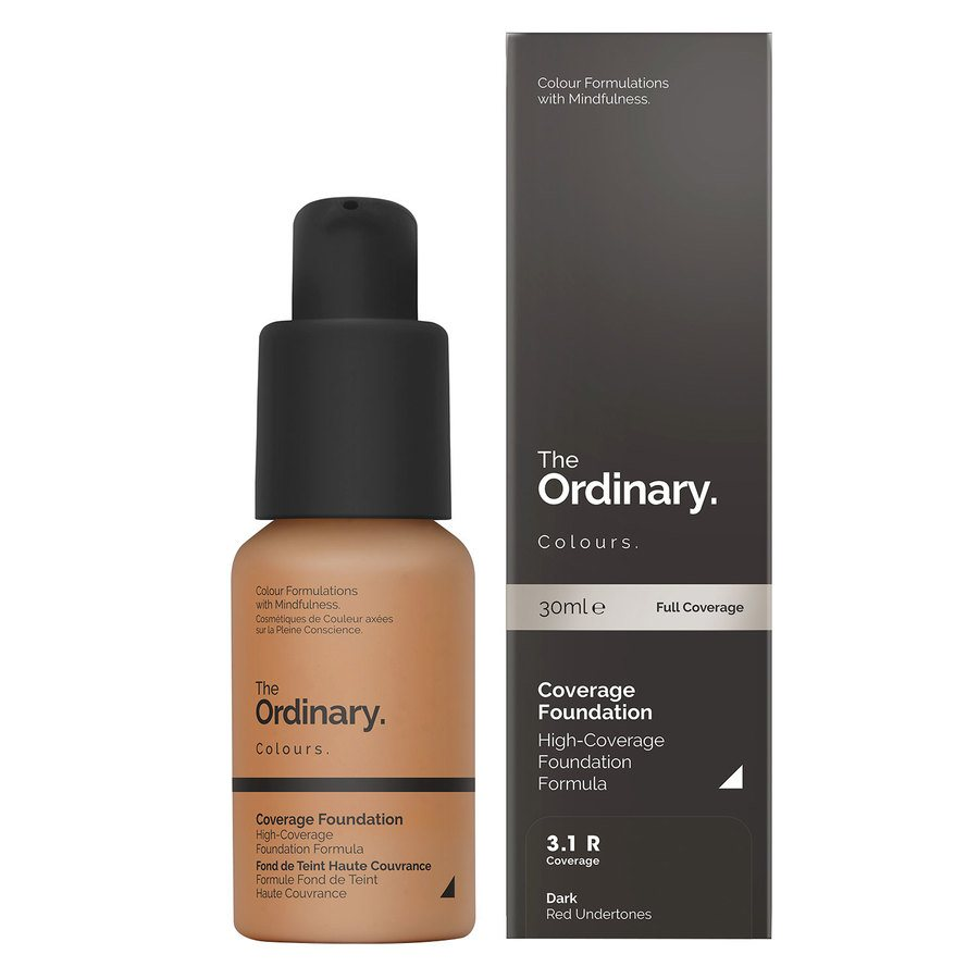 The Ordinary Coverage Foundation 3.1 R dark Red