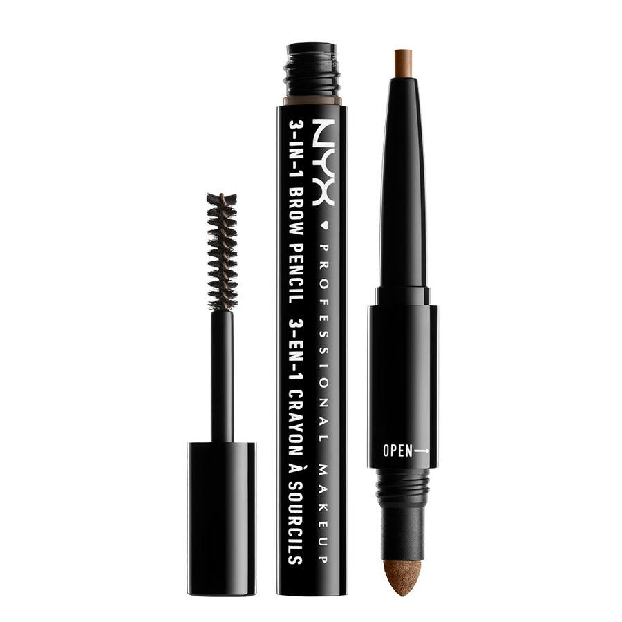 NYX Prof. Makeup 3-In-1 Brow Brunette 31B06