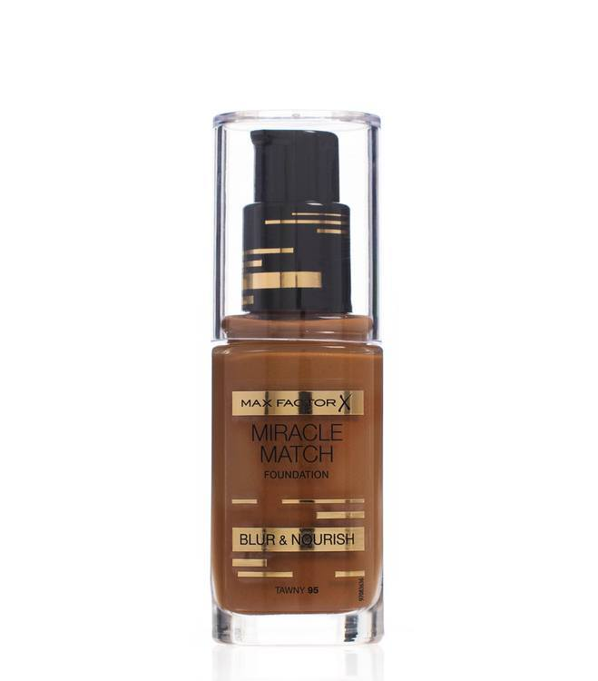 Max Factor Miracle Match Foundation Blur & Nour Tawny 95