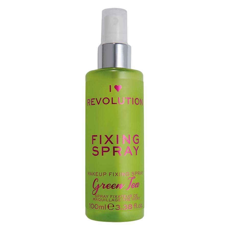 I Heart Revolution Scented Fixing Spray Green Tea 100ml