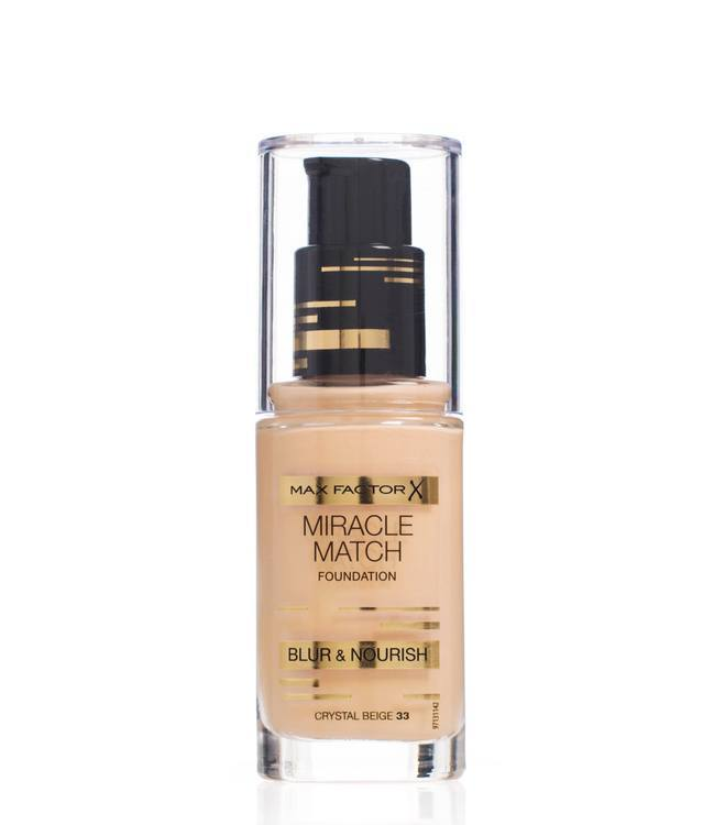 Max Factor Miracle Match Foundation Crystal Beige 033