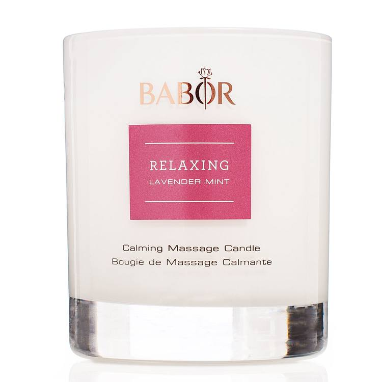 Babor Relaxing Lavender Mint Calming Massage Candle 190 g
