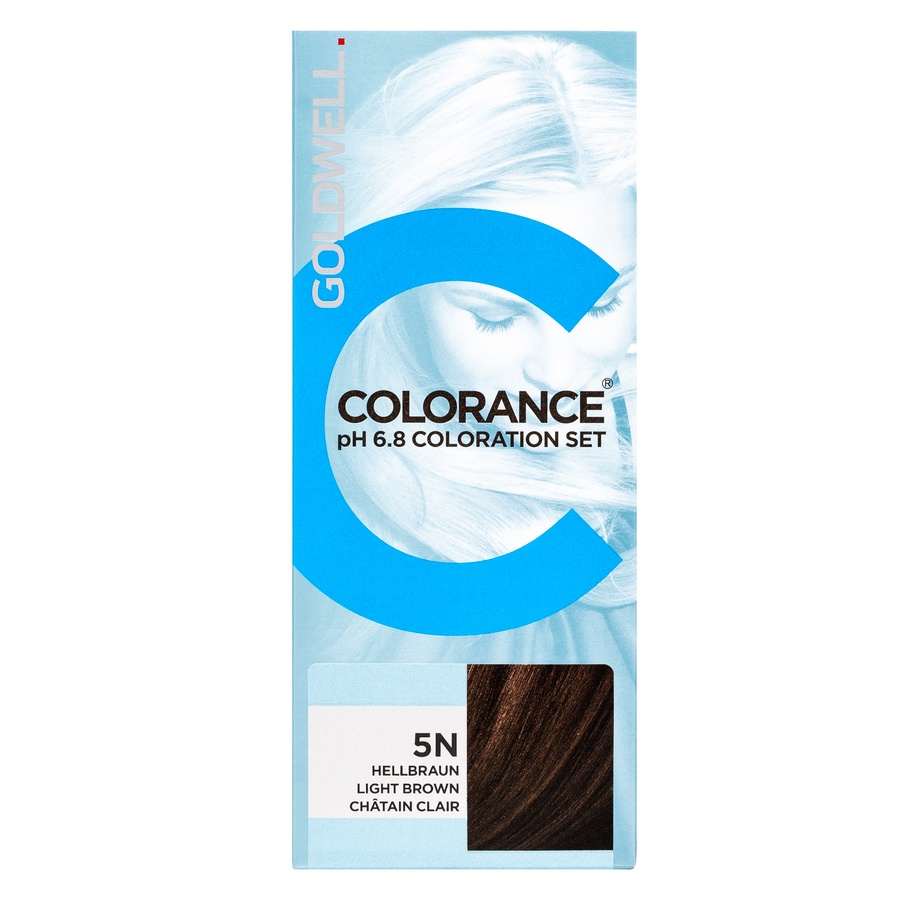 Goldwell Colorance pH 6.8 Coloration Set 5N Ligh Brown 90 ml