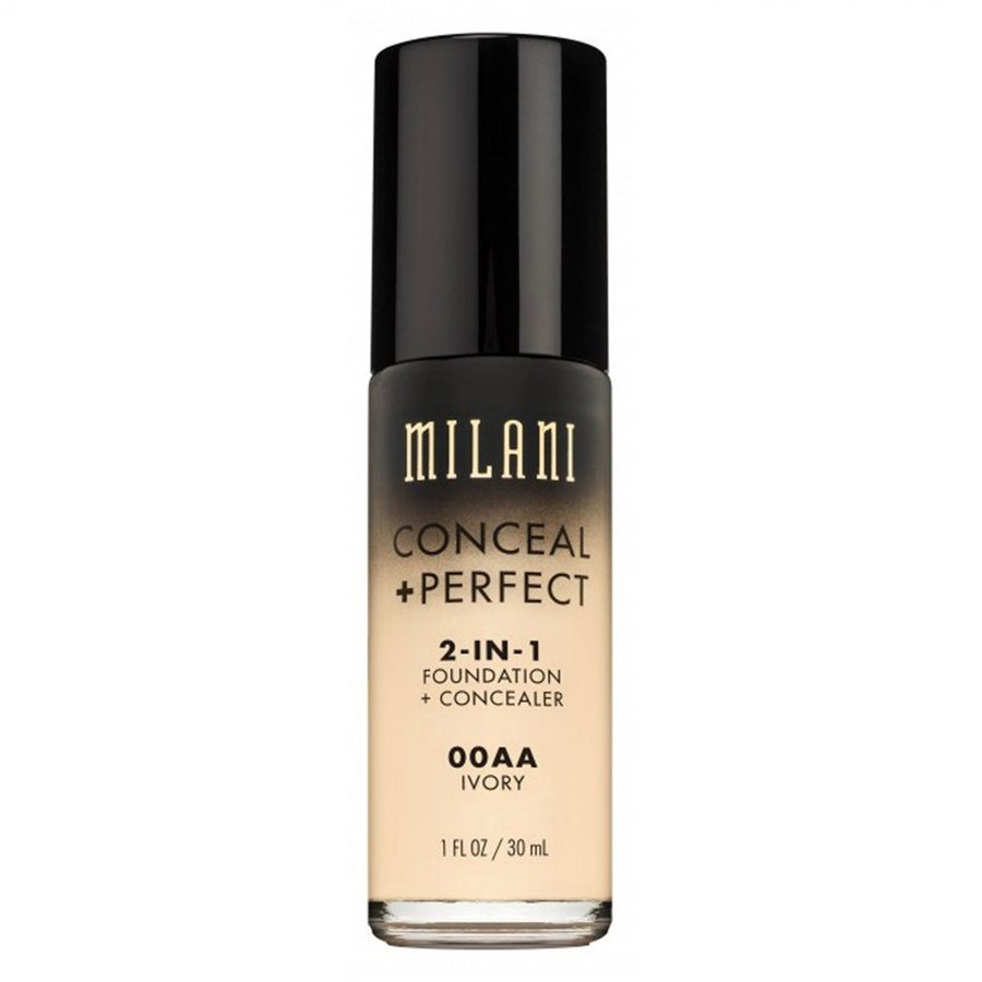 Milani Conceal & Perfect 2-in-1 Foundation + Concealer Ivory 30 ml