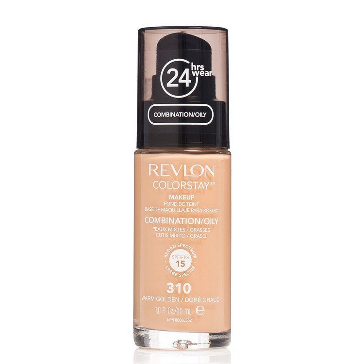 Revlon Colorstay Makeup Combination/Oily Skin 310 Warm Golden 30 ml