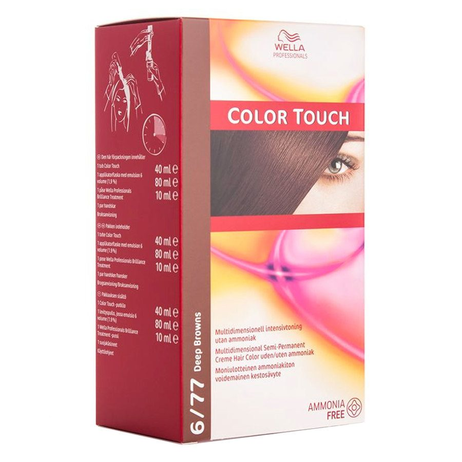 Wella Professionals Color Touch CT OTC 100 ml 6/77 Deep Brown SKAN