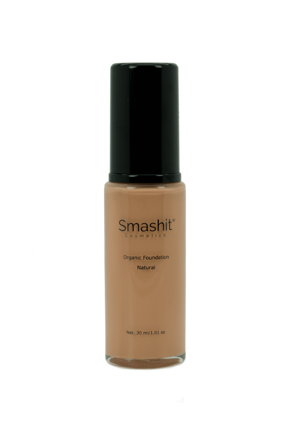 Smashit Cosmetics Organic Foundation Natural 30ml