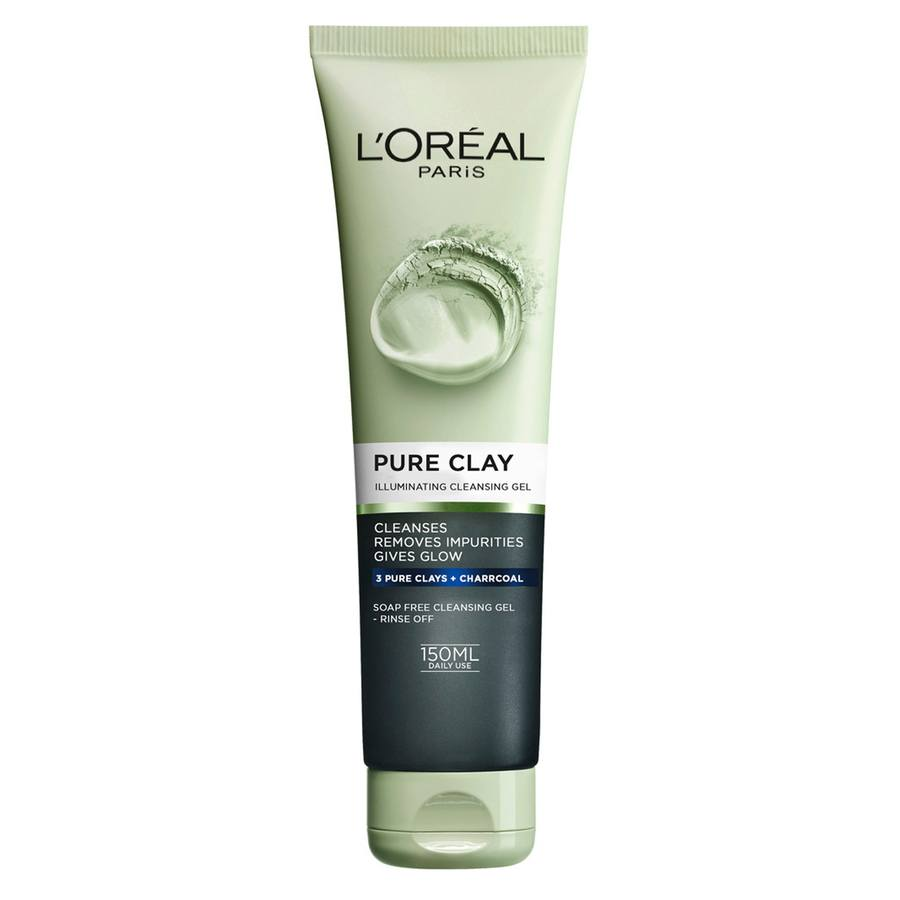 L'Oréal Paris Pure Clay Illuminating Cleansing Gel 150 ml