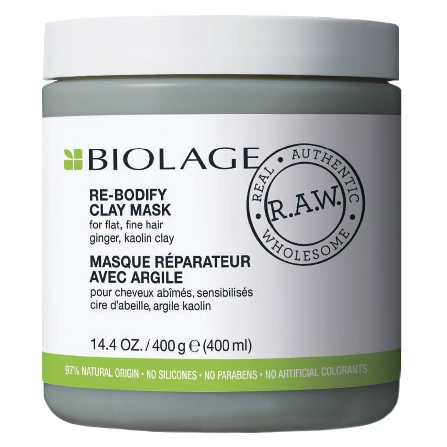 Biolage R.A.W Re-Bodify Clay Mask 400 ml