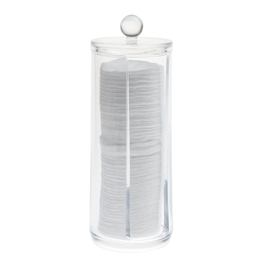 Cosmetic Organizer Cotton Paper Box With Lid
