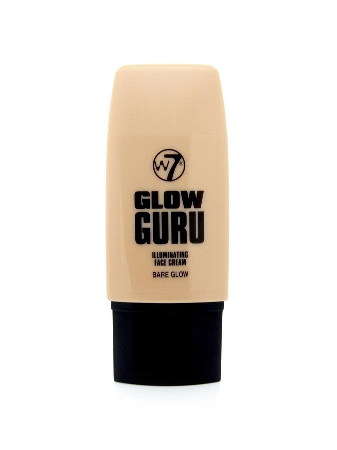 W7 Glow Guru Illuminating Face Cream Bare Glow 35 ml