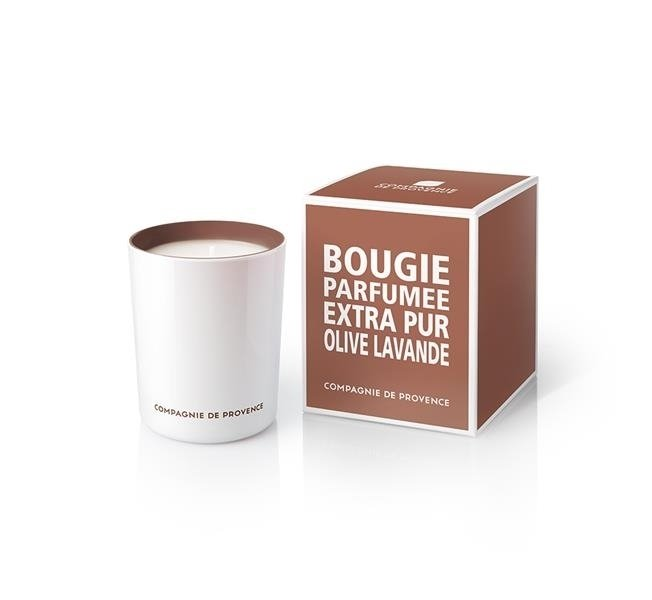 Compagnie De Provence Scented Candle Olive & Lavender 180 g