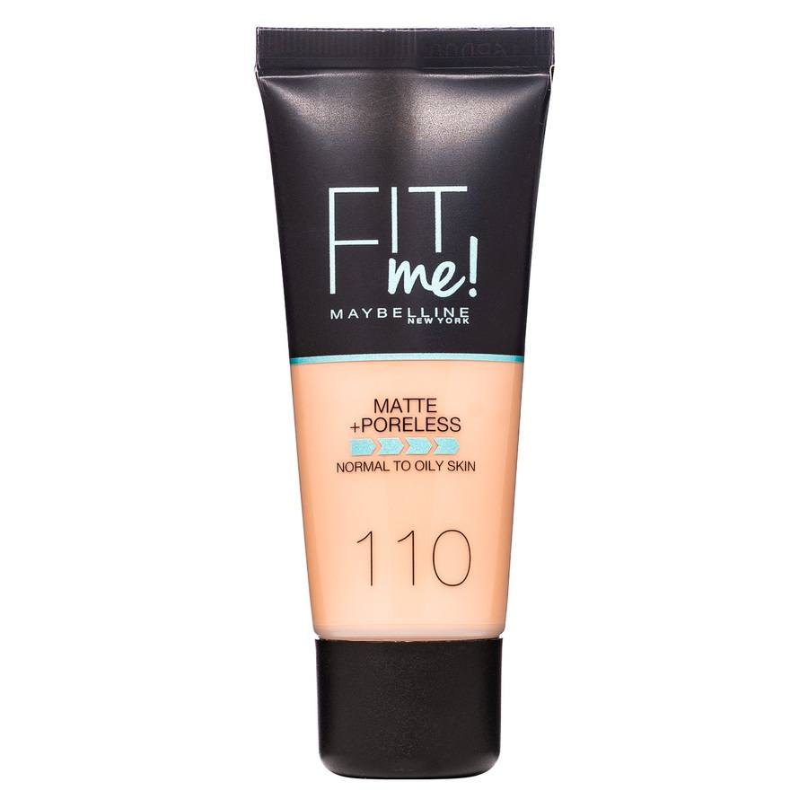 Maybelline Fit Me Makeup Matte + Poreless Foundation 110 30 ml Tub