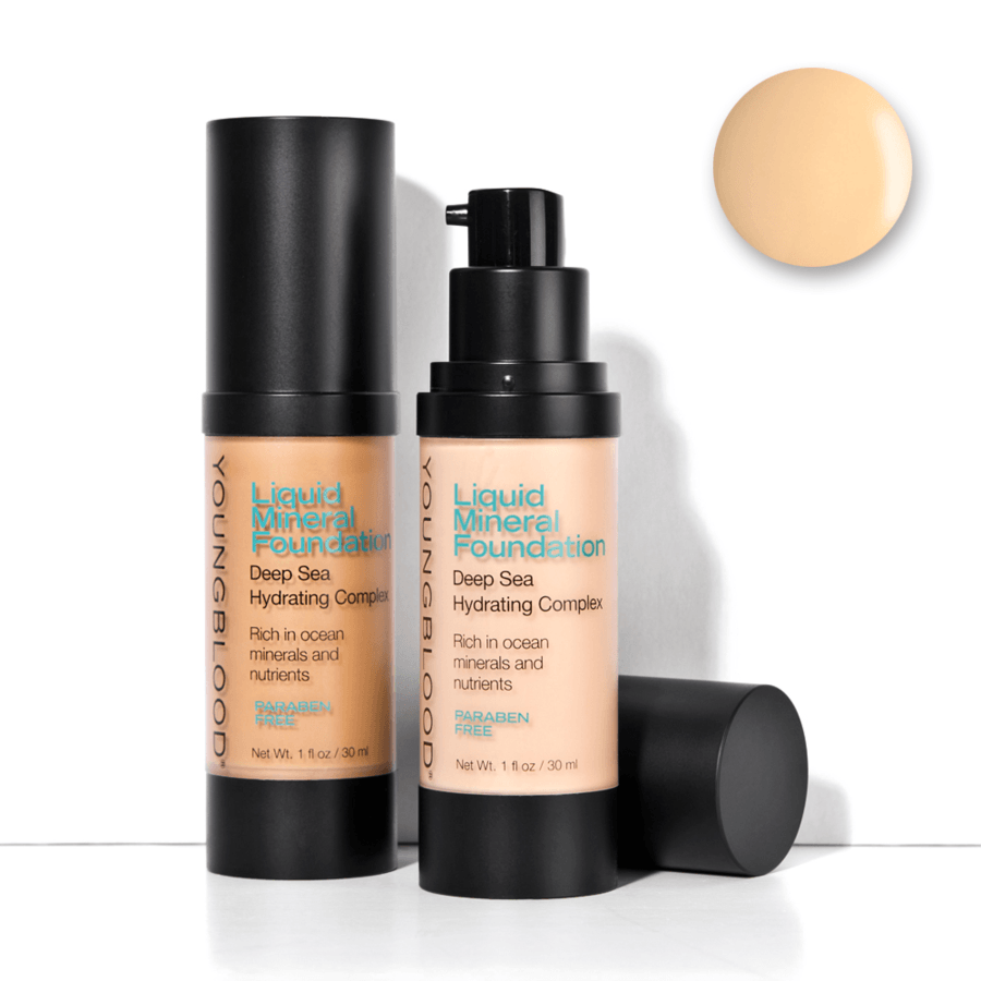 Youngblood Liquid Mineral Foundation Shell 30 ml