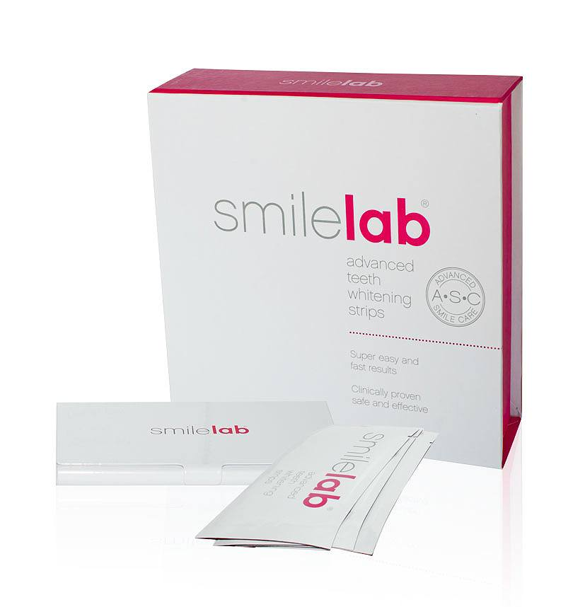 Smilelab Advanced Teeth Whitening Strips 14 x 2 st.