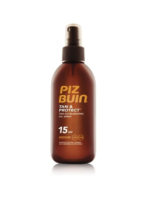 Piz Buin Tan & Protect Oil Spray  SPF15 150ml