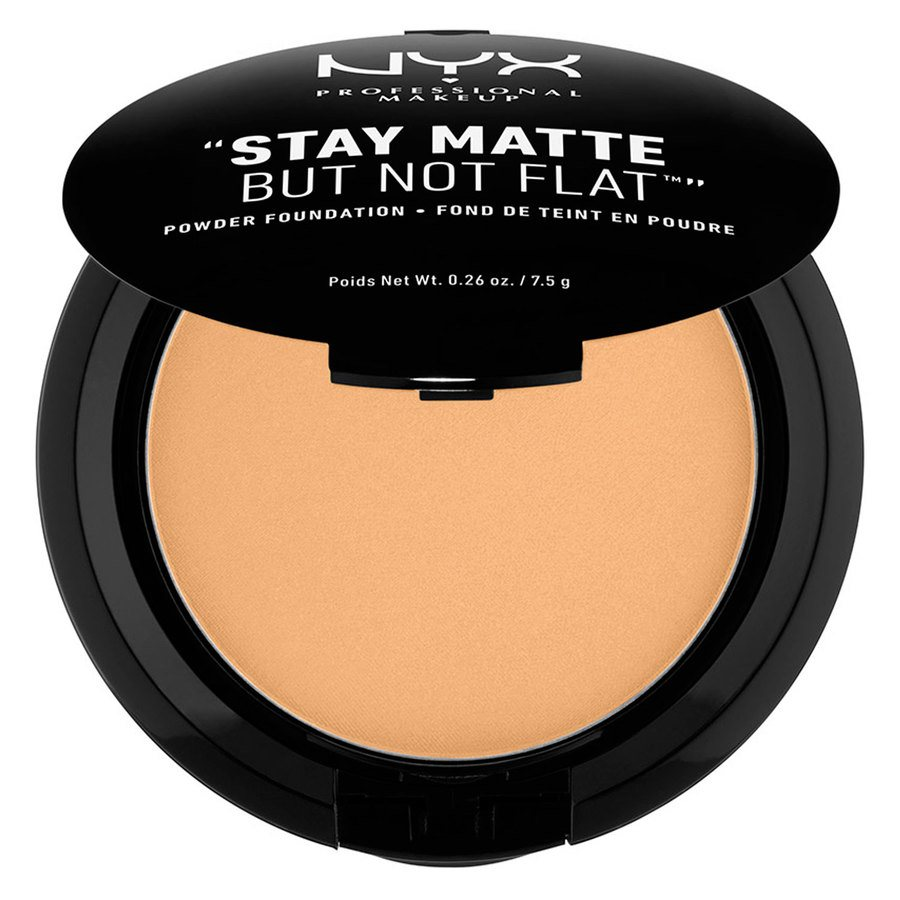 NYX Prof. Makeup Stay Matte But Not Flat Powder Foundation Soft Beige