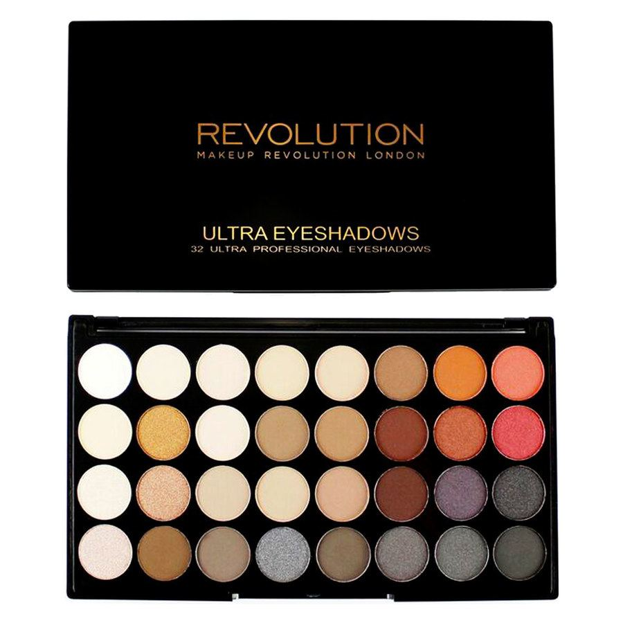 Makeup Revolution Ultra 32 Eyeshadow Palette Flawless 2