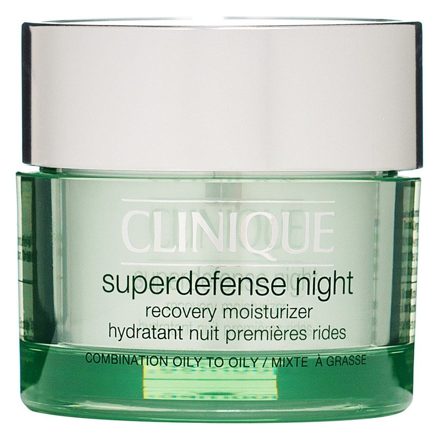 Clinique Superdefense Night Recovery Moisturizer Oily & Combination Oily Skin 50 ml