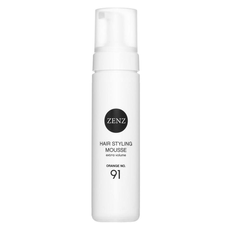 Zenz Organic No. 91 Hair Styling Mousse Extra Volume Orange 200 ml