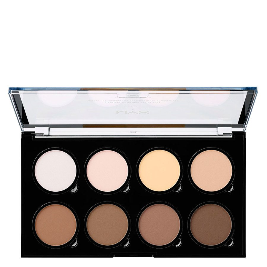 NYX Professional Makeup Contour & Highlight Pro Palette HCPP01