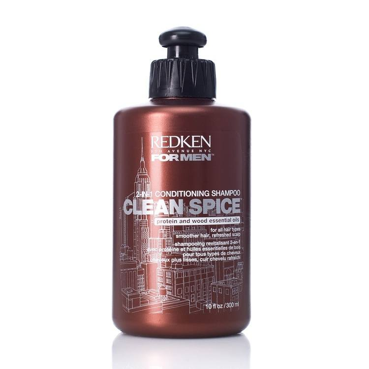 Redken For Men Clean Spice Shampoo 300 ml