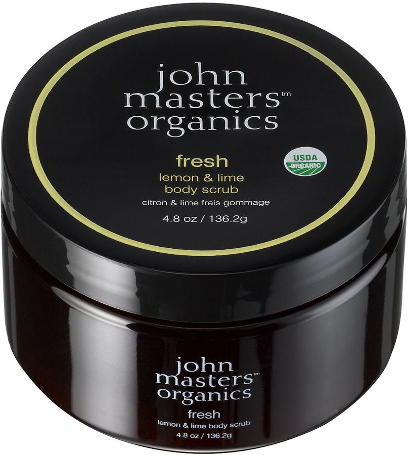 John Masters Organics Fresh Lemon & Lime Body Scrub 136 g