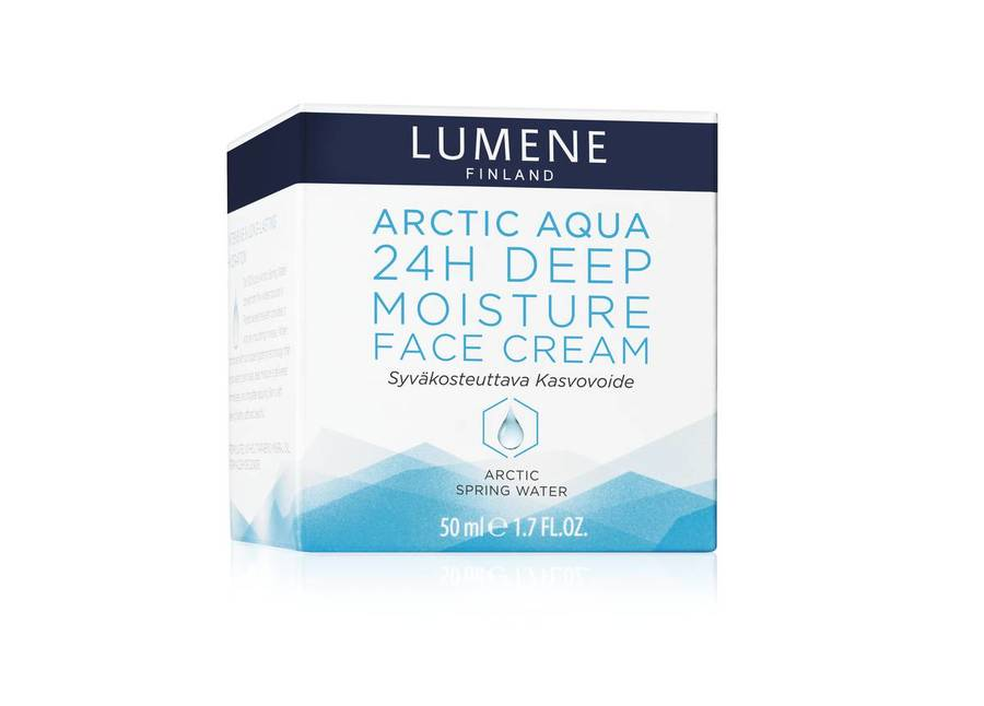 Lumene Arctic Aqua 24h Deep Moisture Face Cream for normal&dry skin 50ml