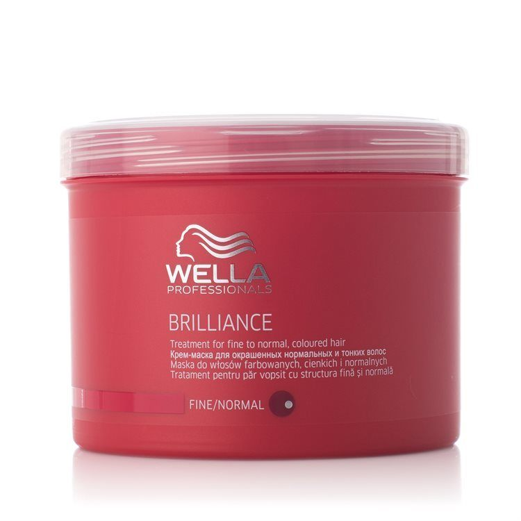 Wella Brilliance Treatment fint/normalt hår 500 ml