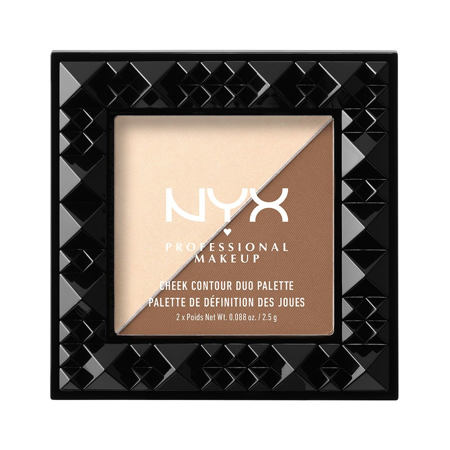 NYX Professional Makeup Cheek Contour Duo Palette Double Date