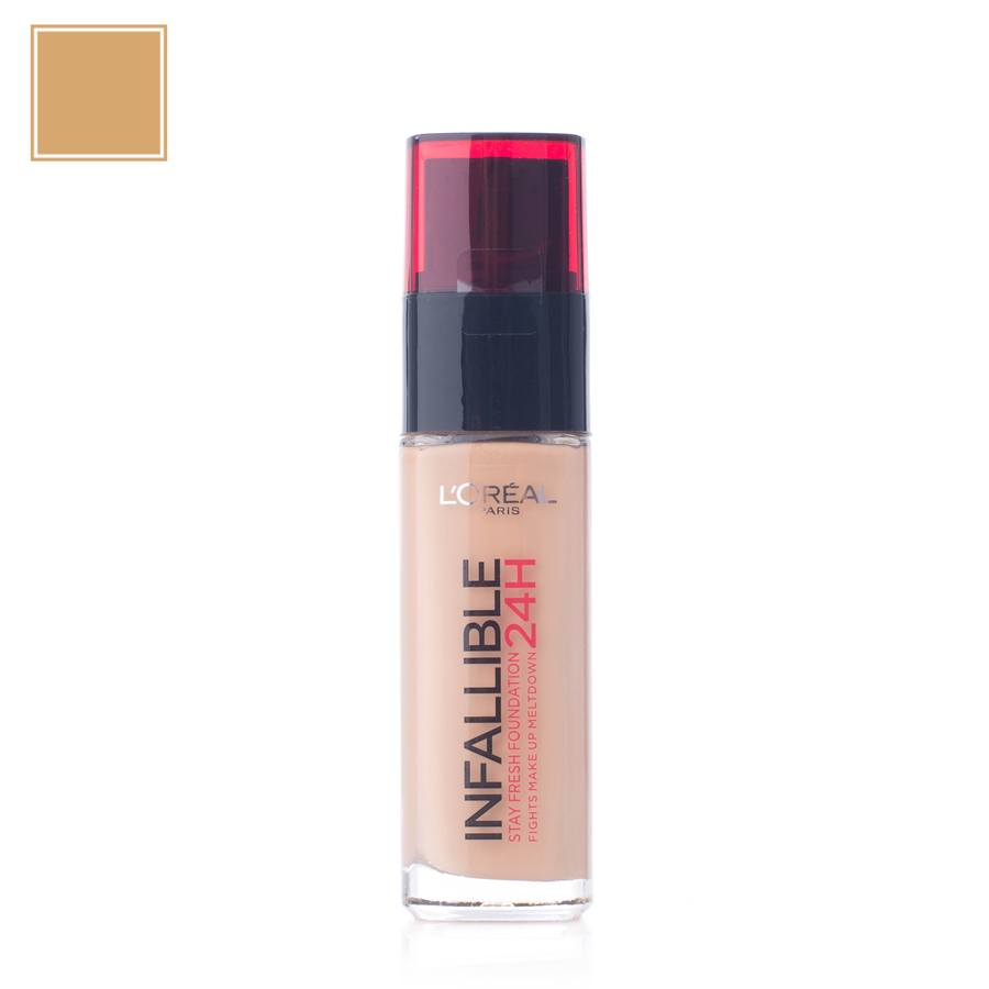 L'Oréal Paris Infallible 24 h Liquid Foundation 140 Golden Beige