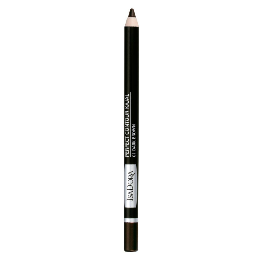 IsaDora Perfect Contour Kajal 61 Dark Brown 1,3 g