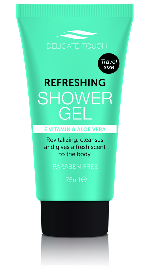 Delicate Touch Refreshing Shower Gel 75 ml