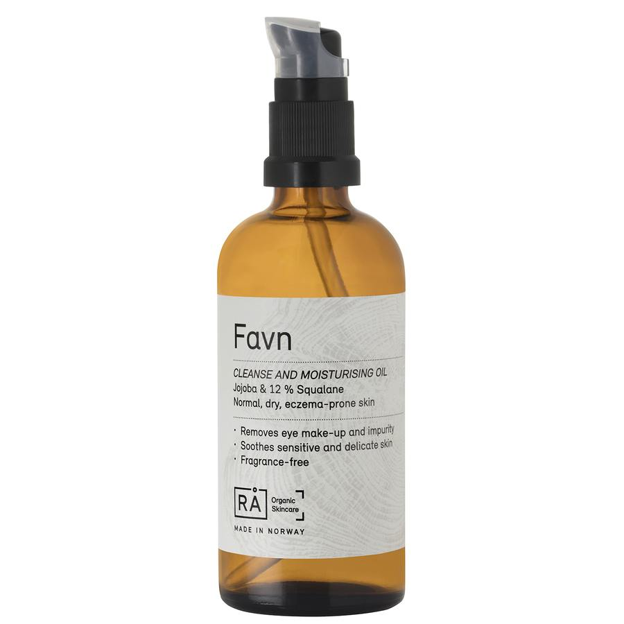 RÅ Organic Skincare Favn Cleanse And Moisturising Oil 100ml