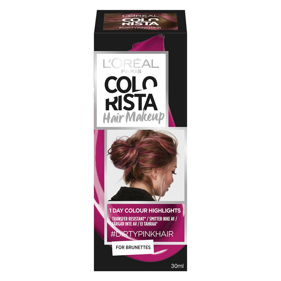 L'Oréal Paris Colorista Hair Makeup 14 Dirty Pink