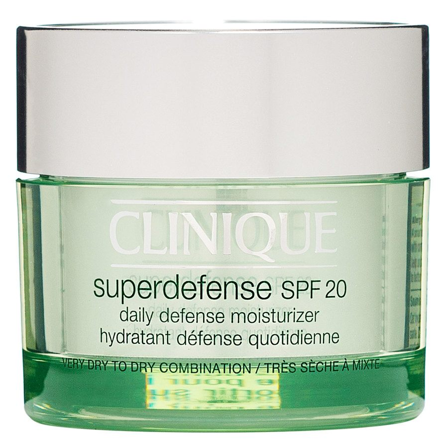 Clinique Superdefense SPF20 Daily Defense Moisturizer Dry & Combination Skin 50 ml