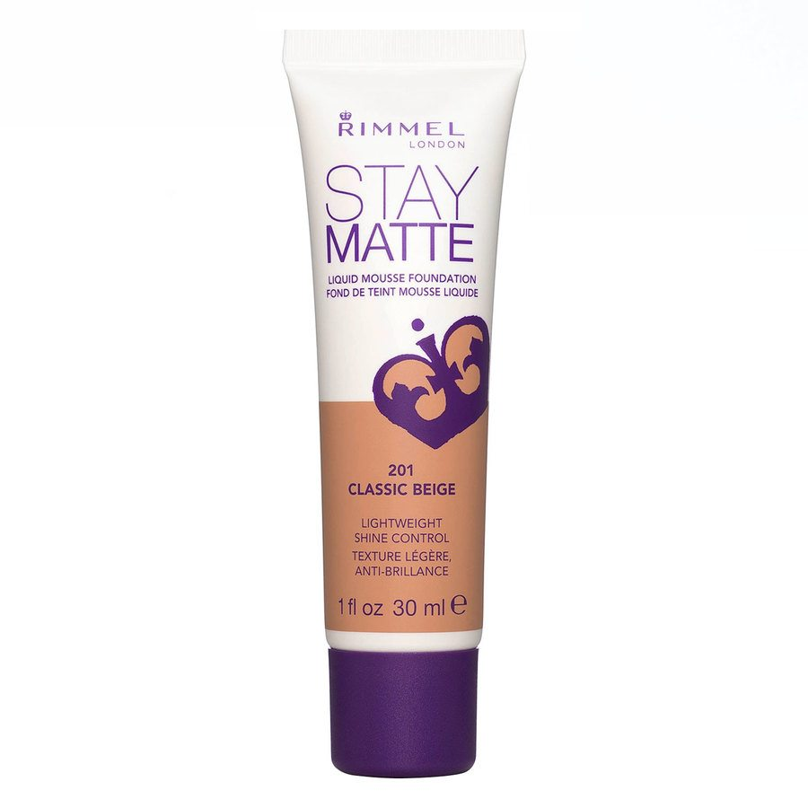 Rimmel Stay Matte Liquid Mousse Foundation Classic Beige 201 30ml