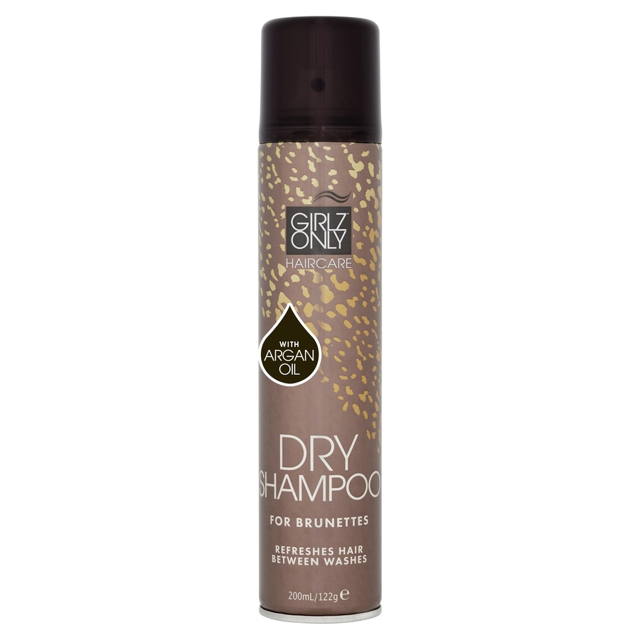 Girlz Only Dry Shampoo For Brunettes with Argan oil 200 ml