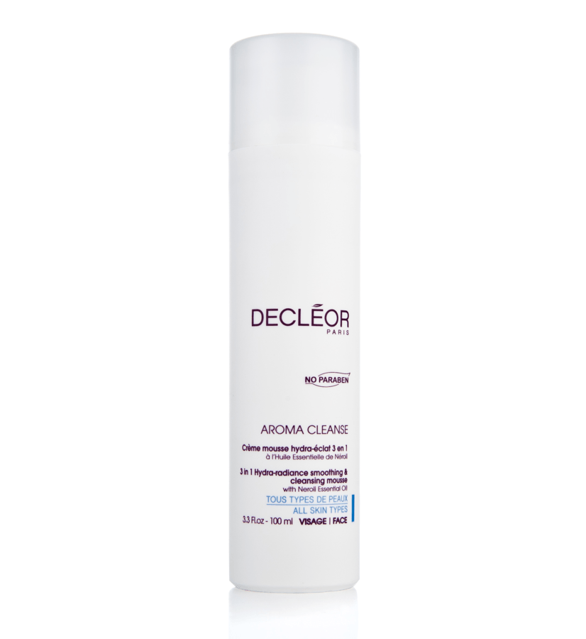 Decléor Aroma Cleanse 3 In 1 Hydra-Radiance Smoothing & Cleansing Foam 100 ml