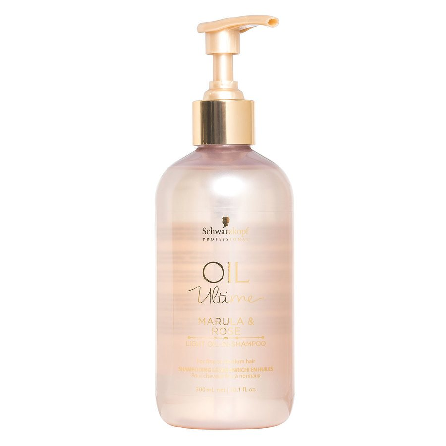 Schwarzkopf Oil Ultime Marula & Rose Light Oil-In-Shampoo 300 ml