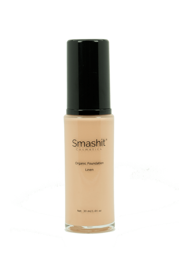 Smashit Cosmetics Organic Foundation Linen 30ml