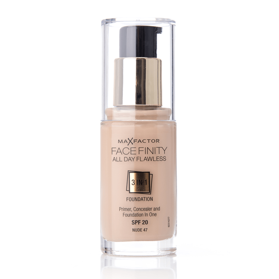 Max Factor Facefinity 3 In 1 Foundation 47 Nude 30 ml