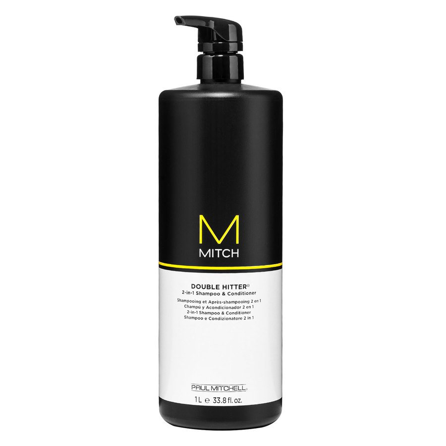 Paul Mitchell – Mitch Double Hitter Sulfate Free 2-i-1 Shampoo And Conditioner 1000ml